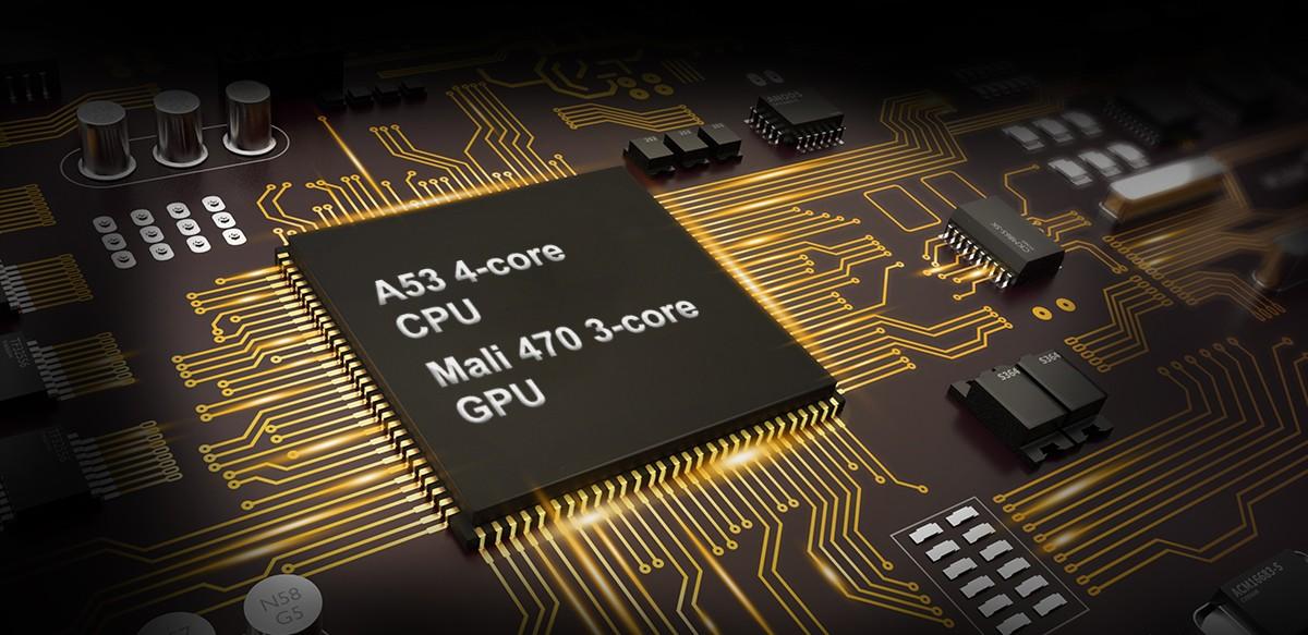 4-Core Processor plus 4G Storage